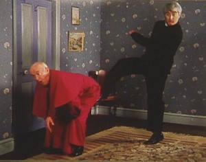 Kicking Bishop Brennan Up The Arse