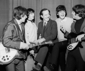 Beatles-with-Brian-Matthew